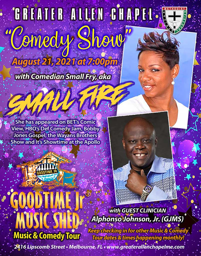 Greater Allen Chapel AME Church comedy and nusic show